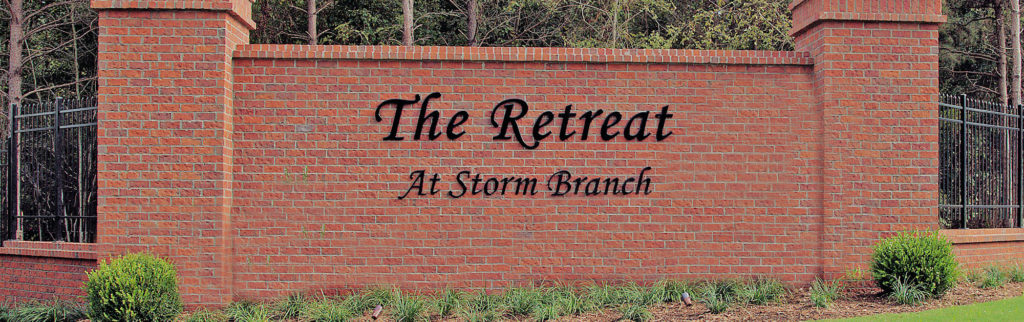 Fall in Love with The Retreat at Storm Branch banner