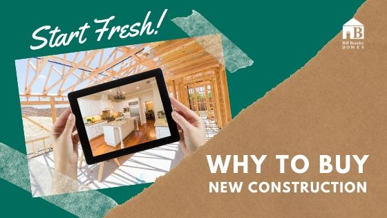 Why to buy new construction banner