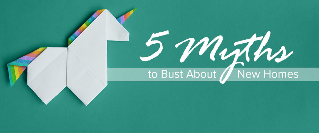 5 myths about new homes banner