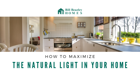maximize natural light in your home banner