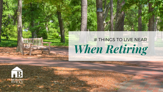 5 things to live near when retiring banner