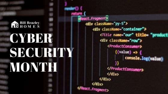 Cyber security month banner