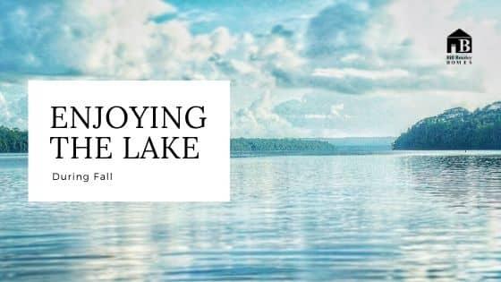 Enjoying the lake banner