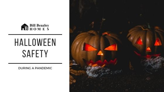 Halloween safety banner