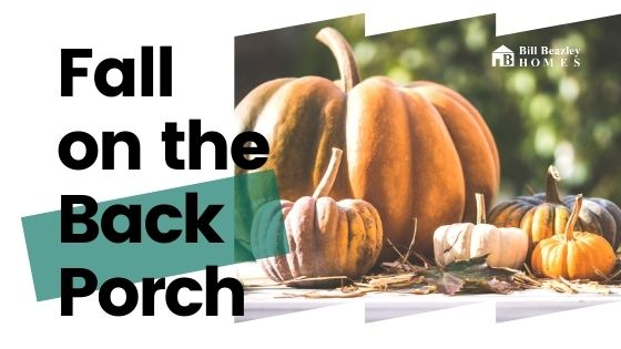 Fall on the back porch banner
