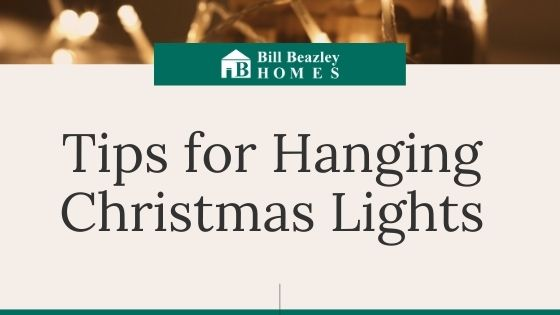 Tips for hanging Christmas lights banner