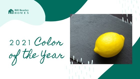 2021 color of the year banner