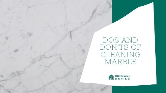 cleaning marble banner