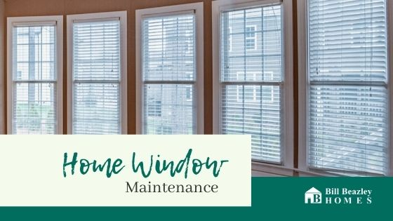 Home window maintenance banner