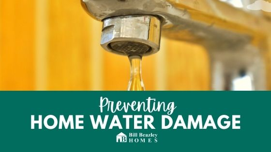 Preventing home water damage banner