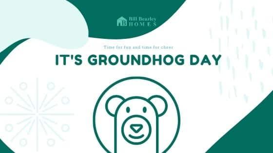 Groundhog day banner