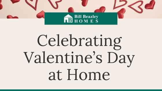 celevrating valentine's day at home banner
