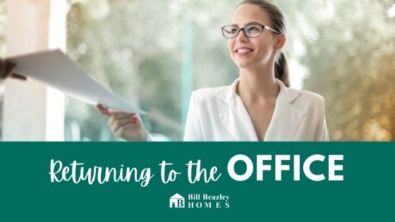 returning to the office blog feature