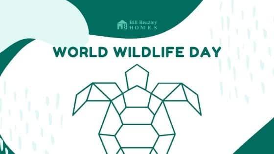 World wildlife day banner