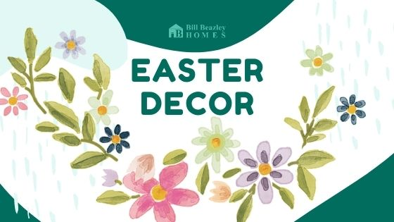 An image of the Easter Décor banner