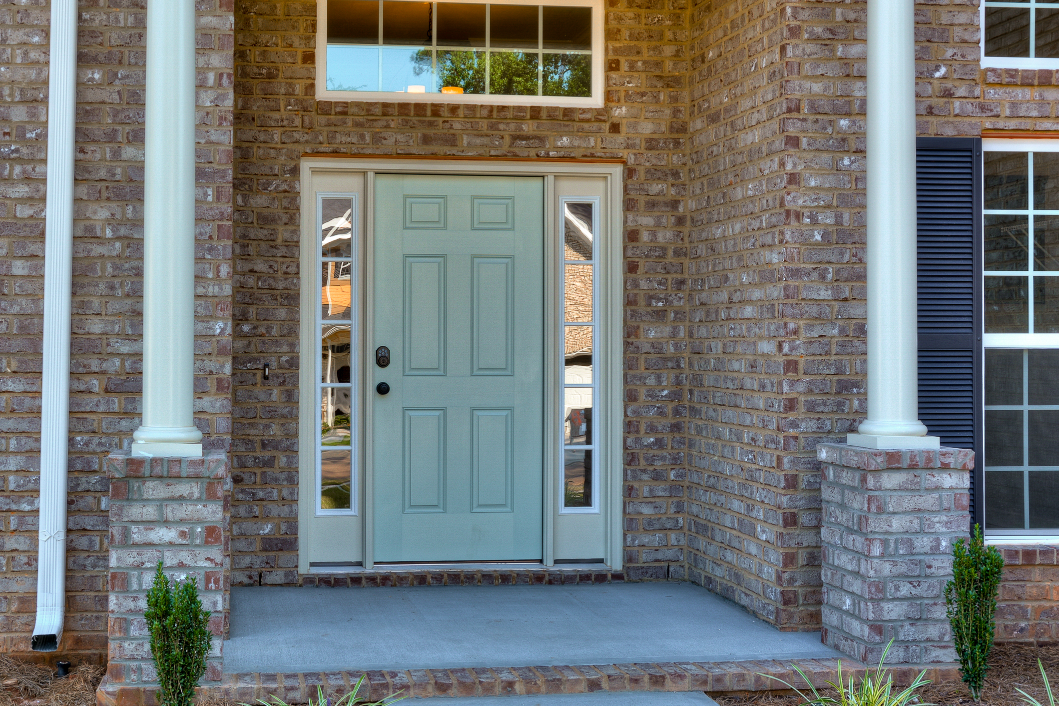 An image of the front door of a home in Bergen Place West.