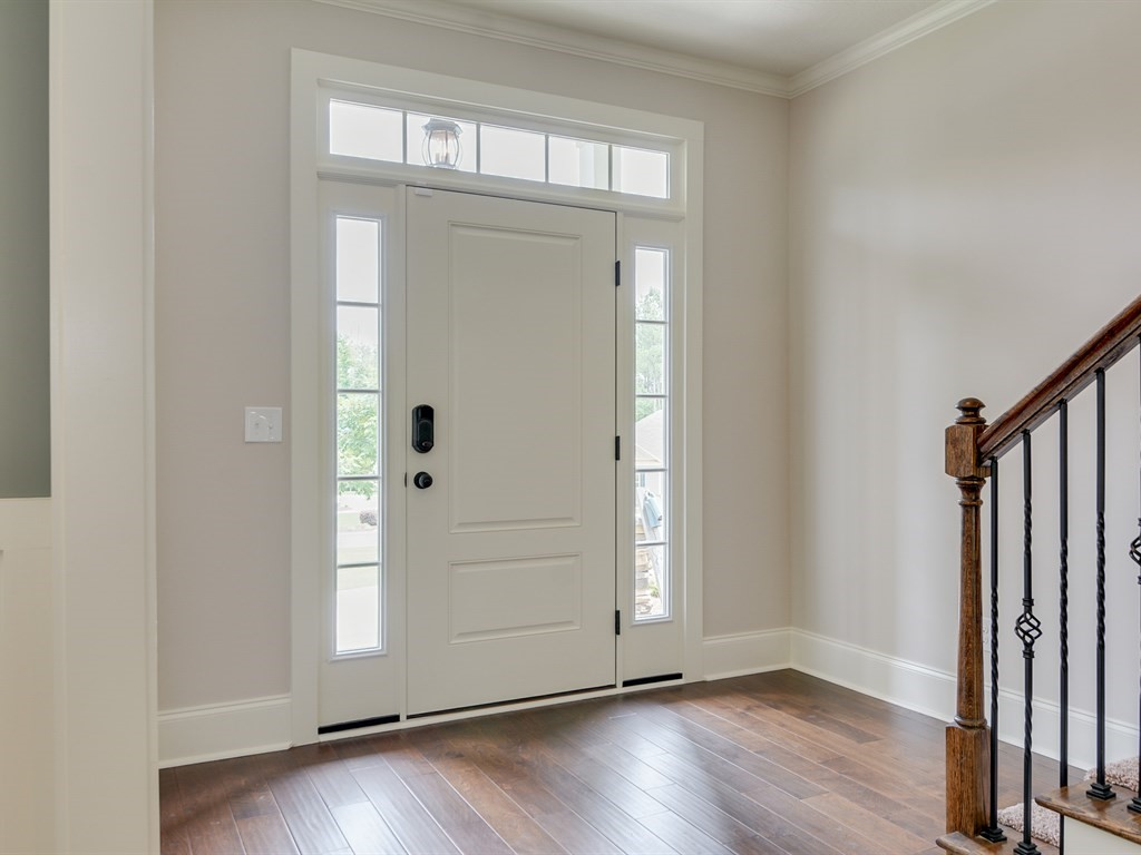 An image of the foyer of a home in The Retreat.