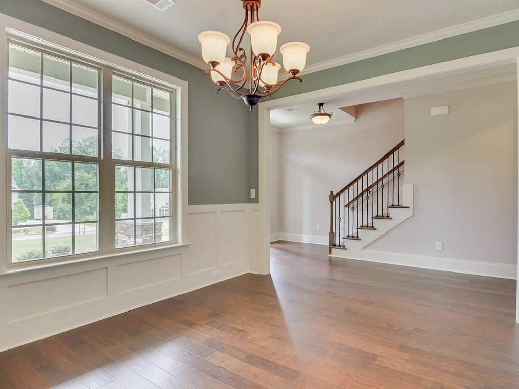 Formal dining room at a home in the Retreat.