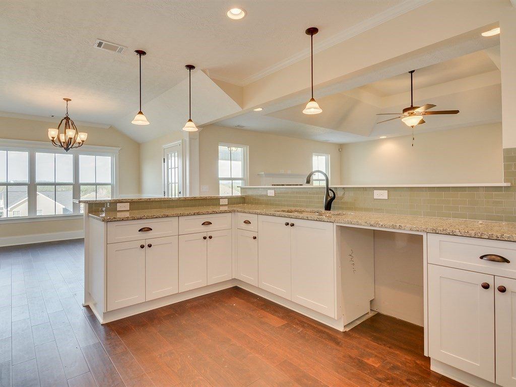 An image of kitchen with open floorplan in Haynes Station.