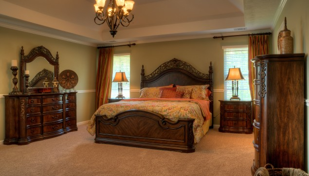 An image of master bedroom in Haynes Station.