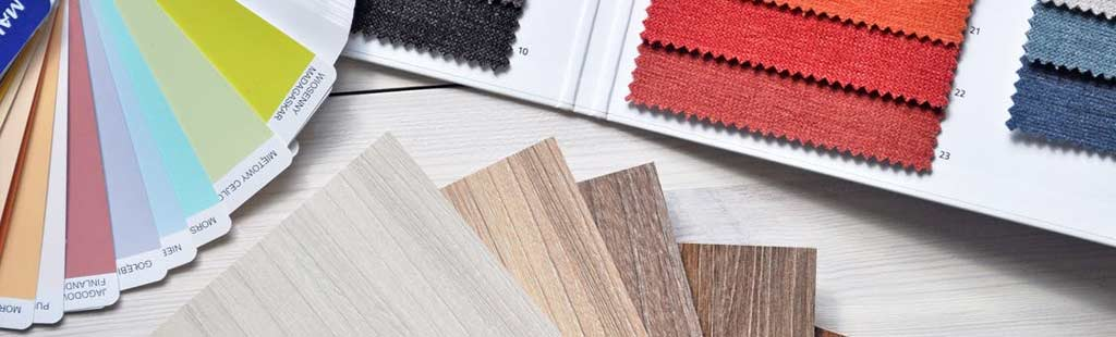 An image of color selection for a new home.