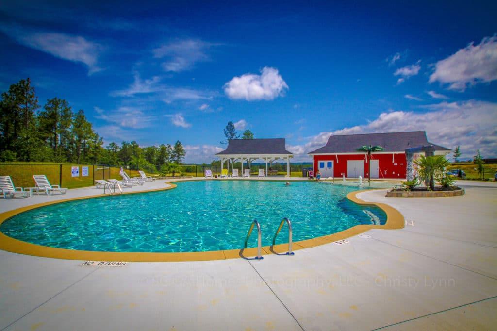haynes Station pool.