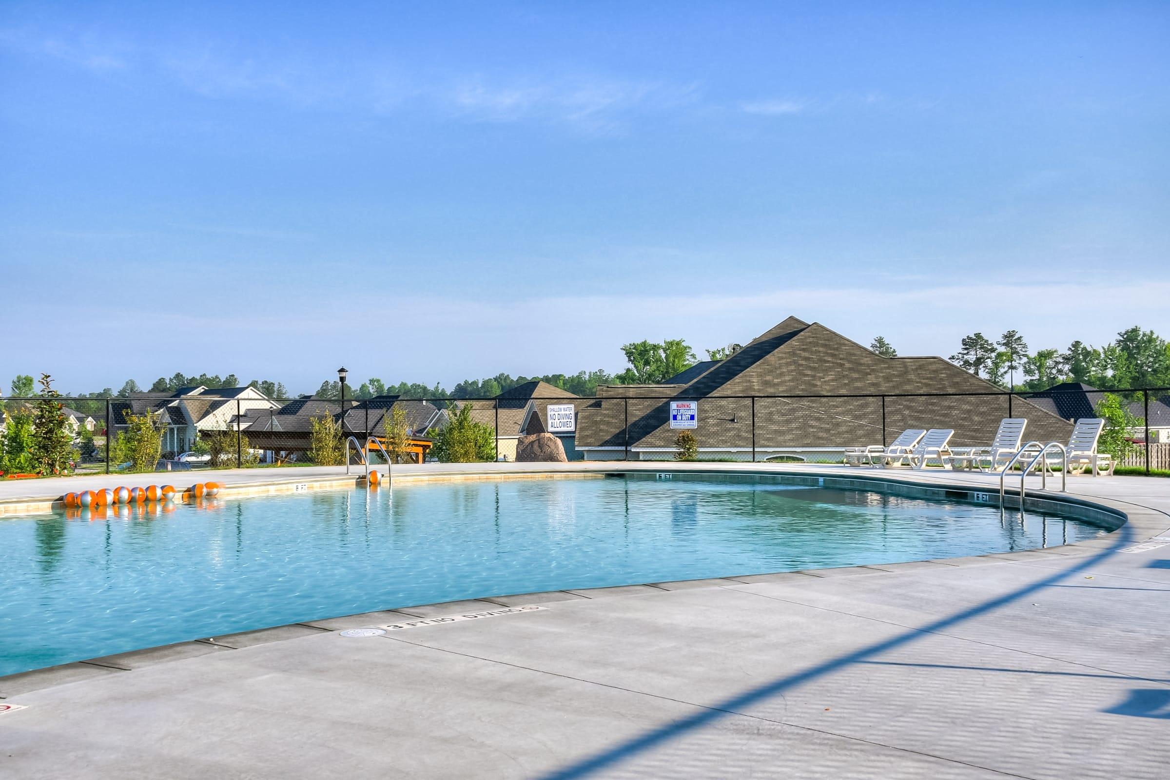An image of the pool area of Kelarie neighborhood.