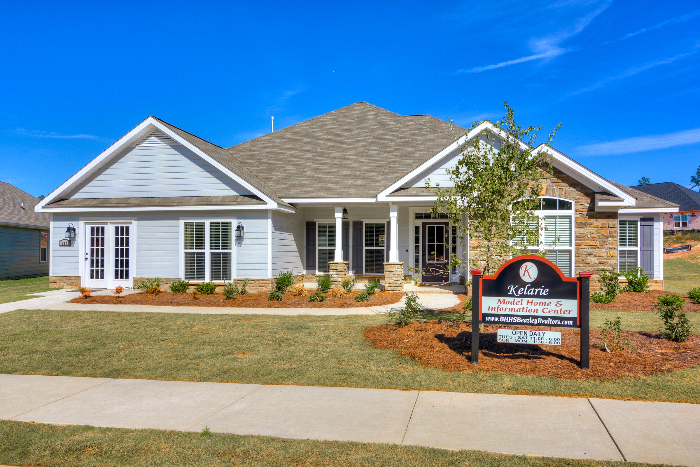 An image of a model home in Kelarie.
