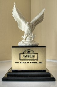 Image of the Gold Home Buyer Warranty Award.
