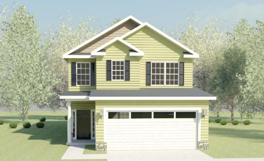 Home rendering for Riverton.