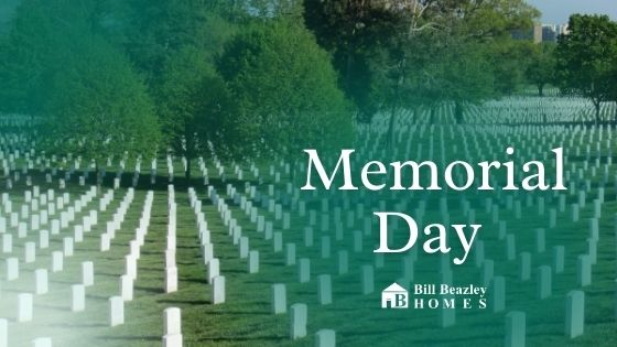 Arlington Memorial in celebration of Memorial Day