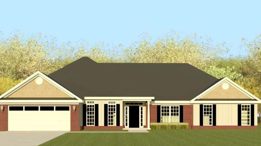 A rendering of Averly Manor 12.