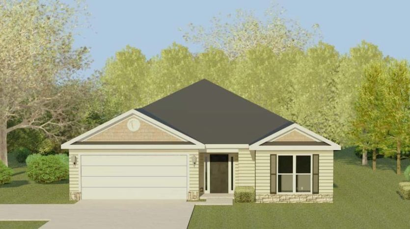 Home rendering for Avondale 3.