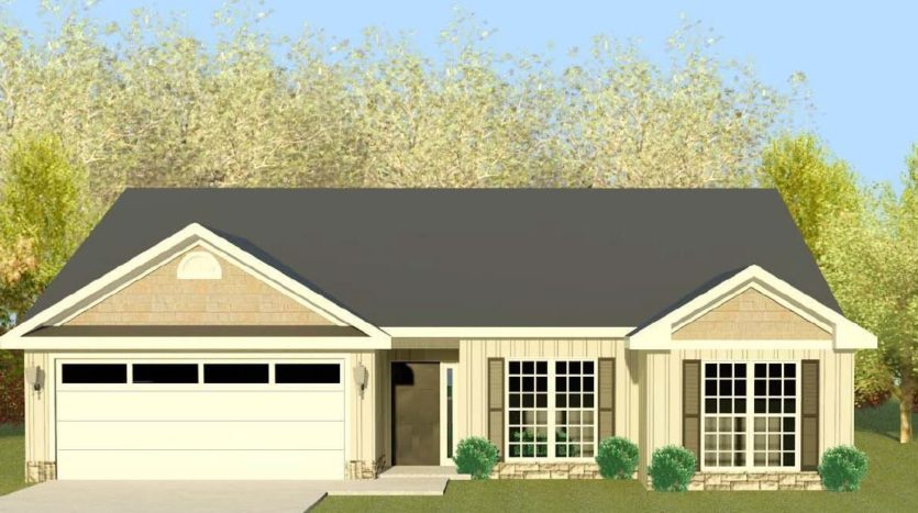 A rendering of Homestead 11.