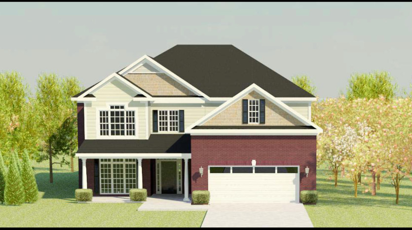 A rendering of Lynndale 4.