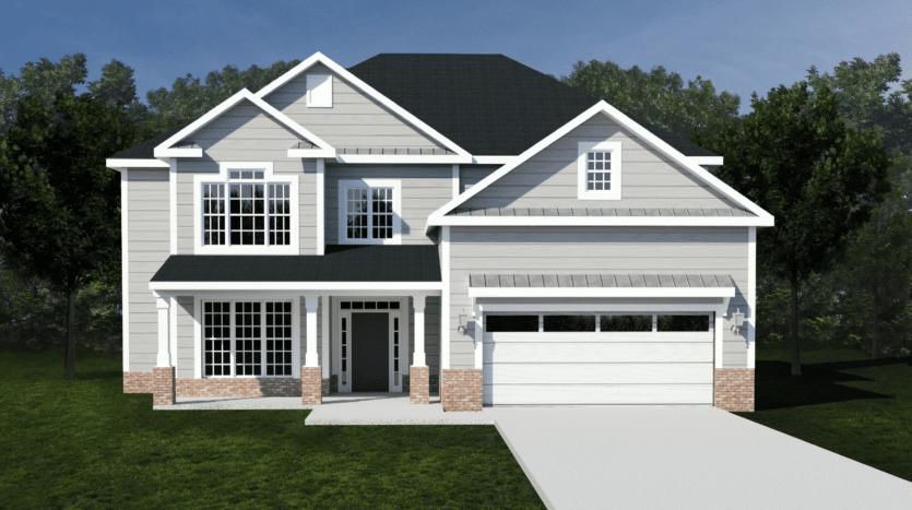 A rendering of Lynndale 6.