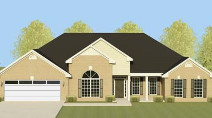A rendering of Richland Manor 10.