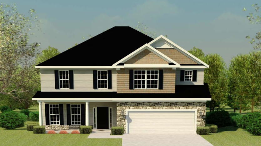 A rendering of Clarkston 2.