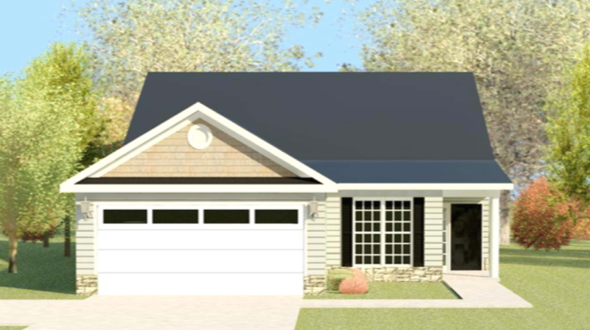 A rendering of Wynstone 4 home.