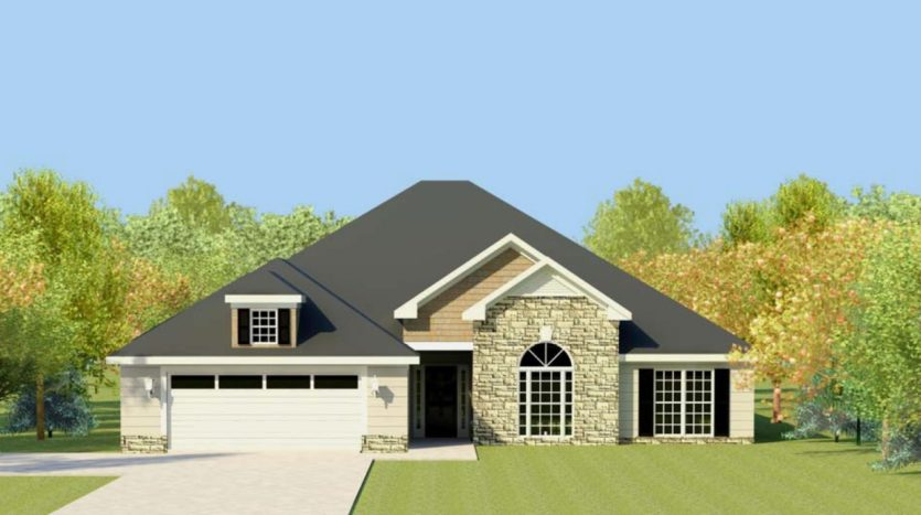 A rendering of Stapleton Manor 8.
