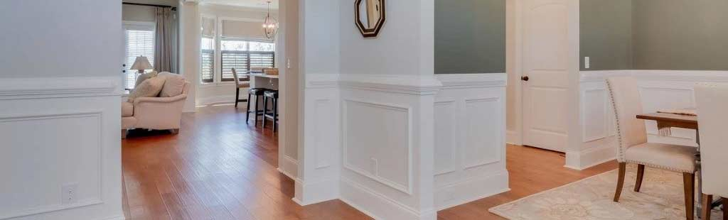 An image of the walkways in an easy access home.