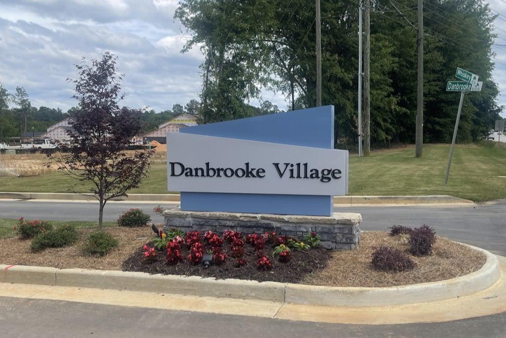 Danbrooke Village sign