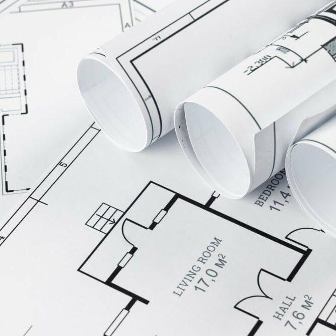 Custom floor plans from Bill Beazley Homes